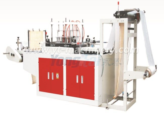 pe plastic apron making machine