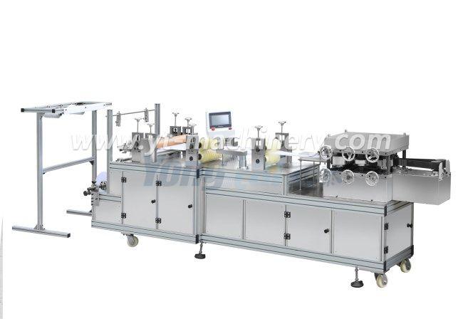 Pe / máquina de fabricación de tapa no tejida con sistema de Plc